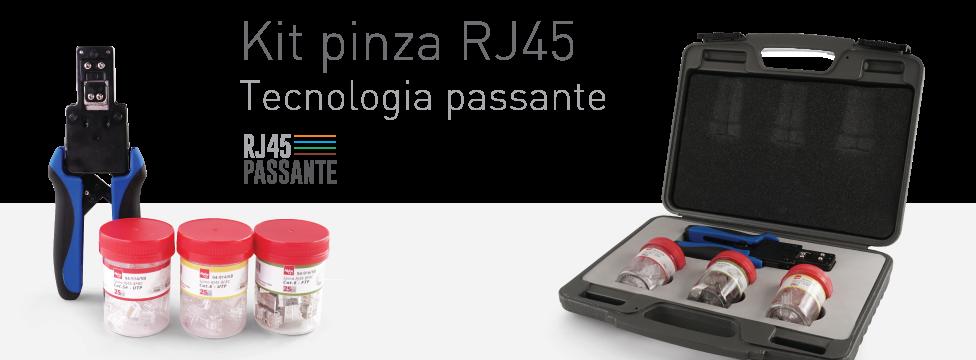 Kit pinza RJ45