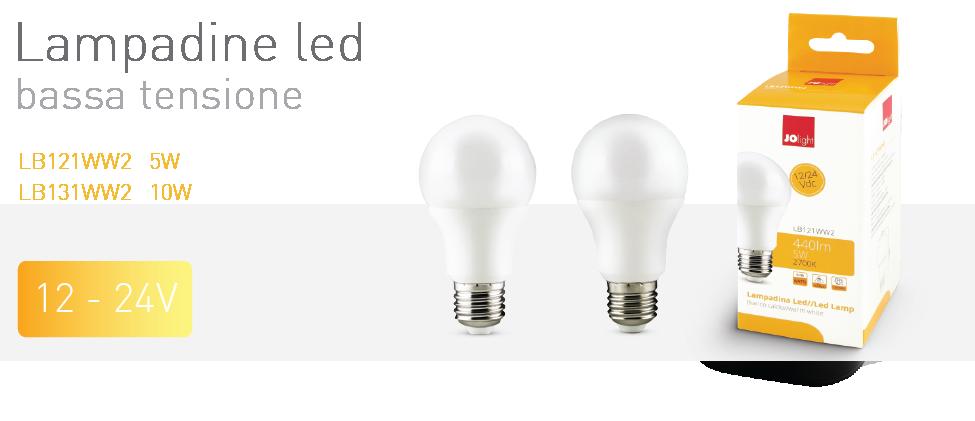 lampadine led bassa tensione